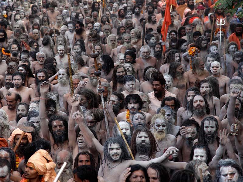 The Spiritual Kumbh Mela in India