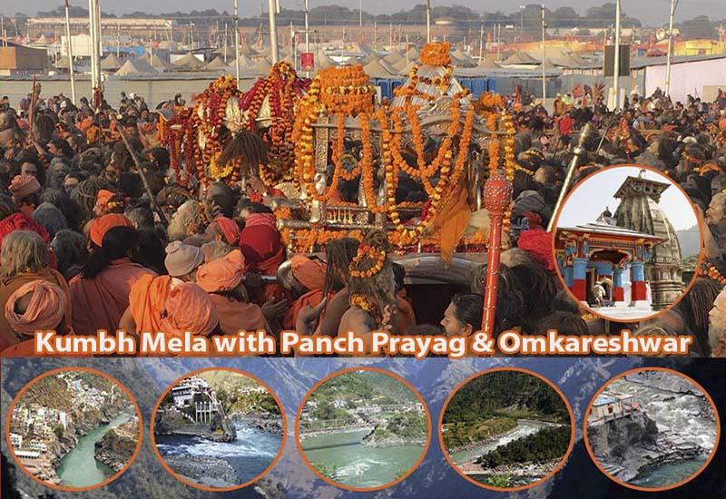 Kumbh Mela with Panch Prayag & Omkareshwar